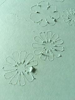Papier Minzmakrone von Stampin Up lässt sich nicht plotten