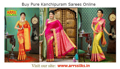Buy Pure Kanchipuram Sarees Online
