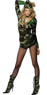 Top Beauty Model Women Army Picture - Women Army