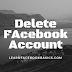 Deactivate Or Delete Facebook account Permanently or temporarily? | Deactivate Facebook account mobile