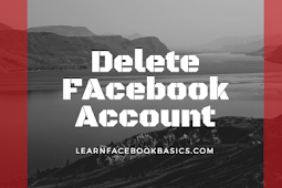 Delete or deactivate Facebook account Permanently or temporarily? | Deactivate Facebook account mobile