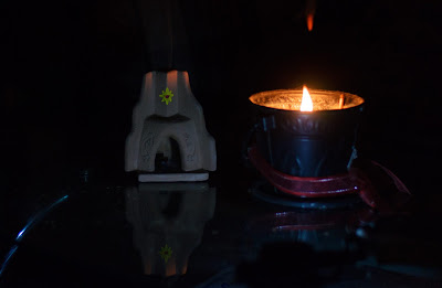 Earth Hour 2017 Incense Burner and Candle