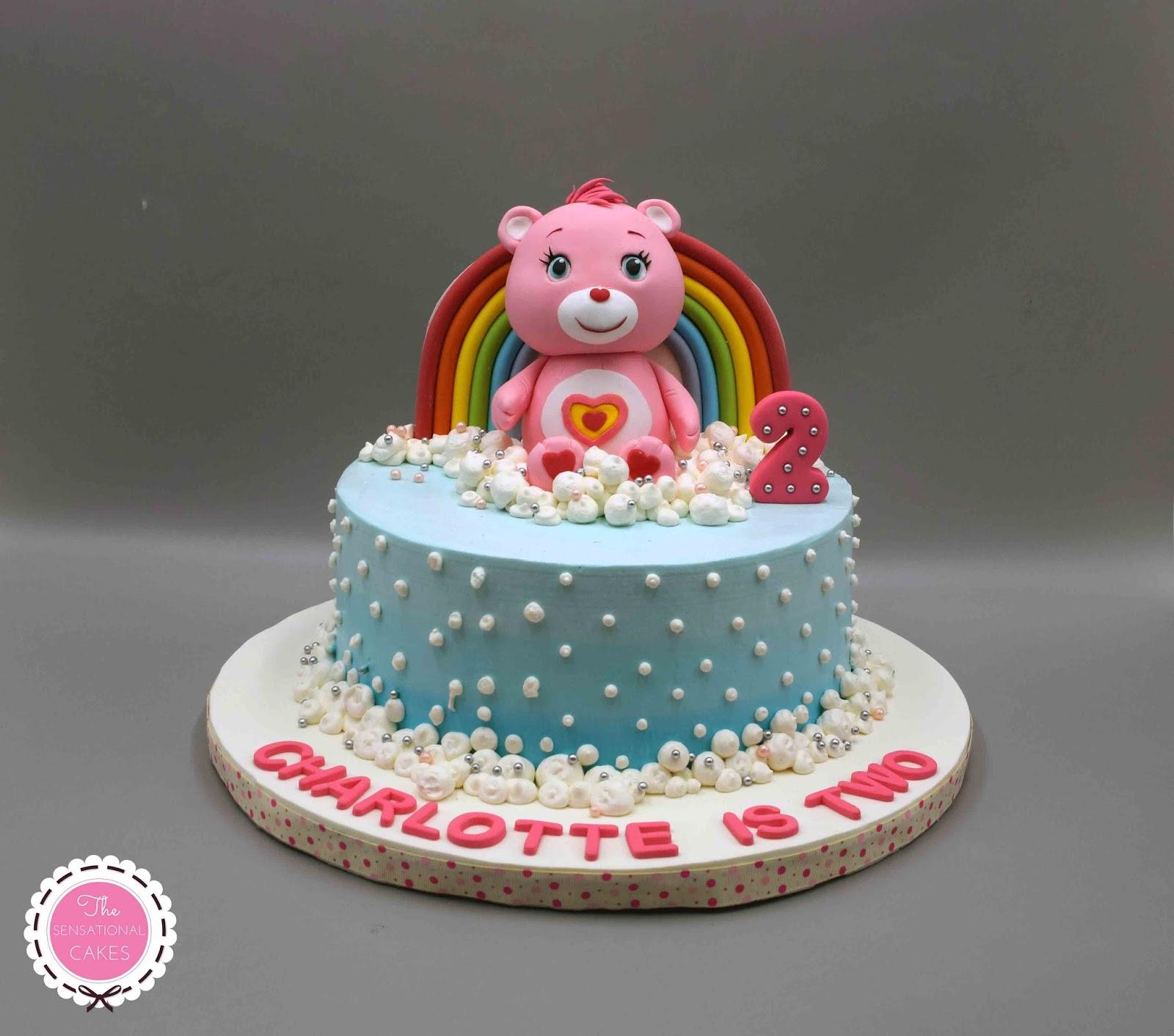 The Sensational Cakes Care Bear Concept 3d Birthday Cake Singapore