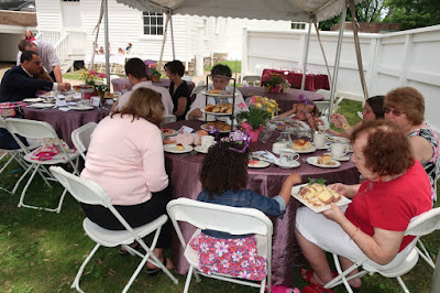 World Doll Day tea party at Joseph Priestley House