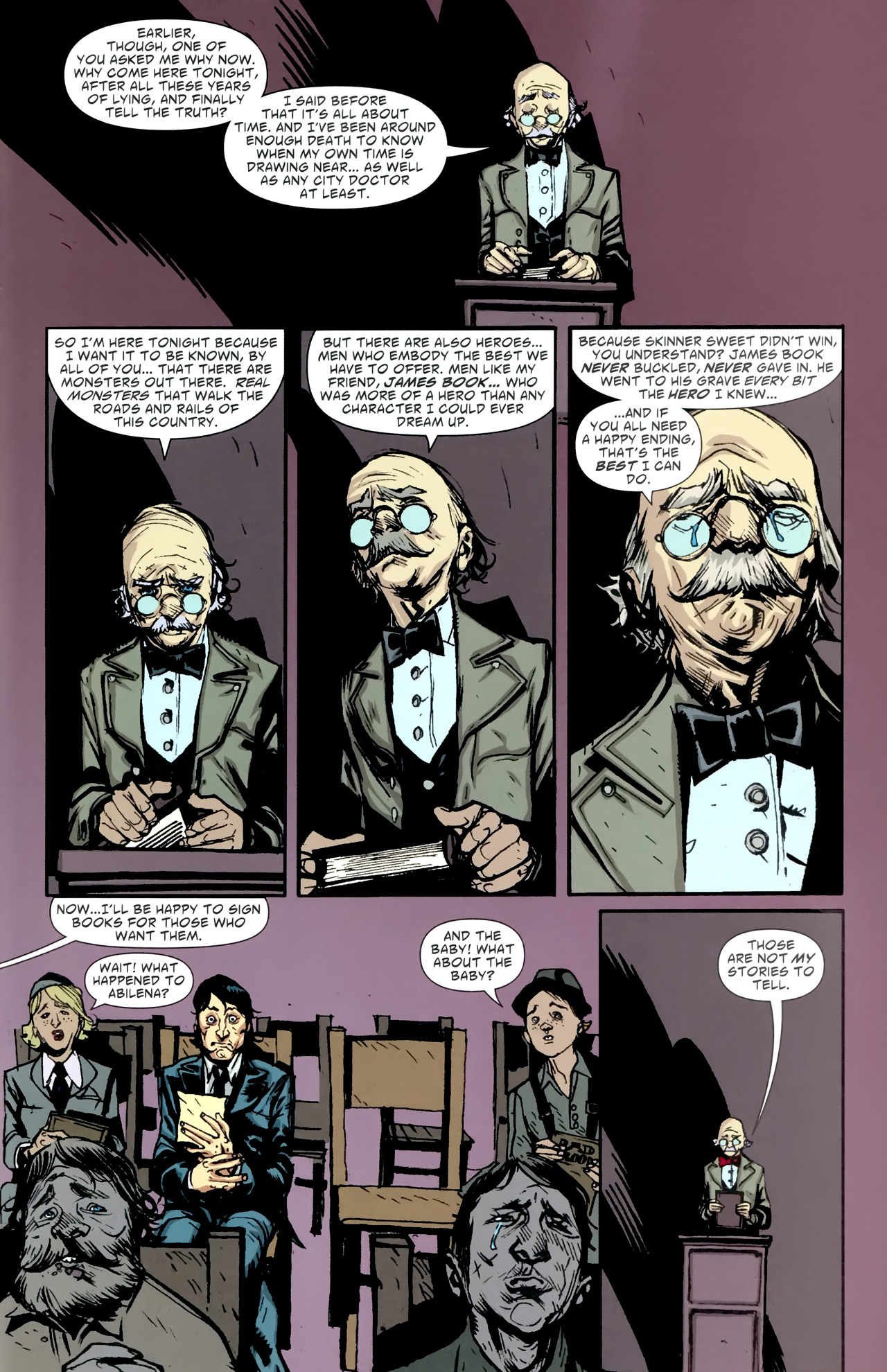 Read online American Vampire comic -  Issue #5 - 32