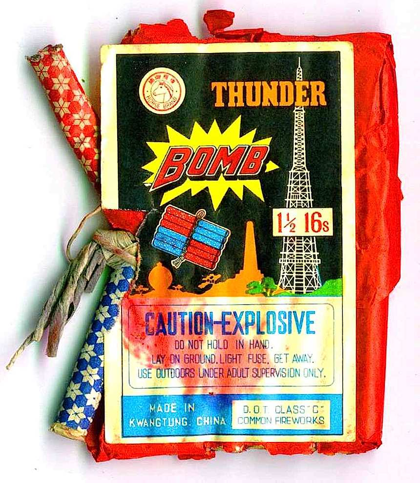 firecrackers package, devil's delight