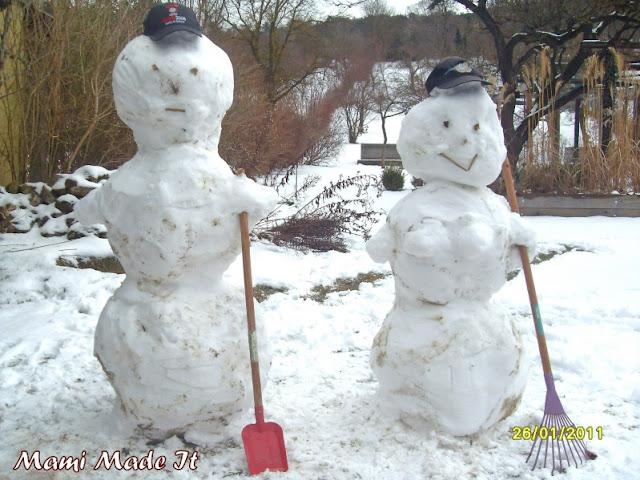 Snowmen Parade - Schneemann Parade