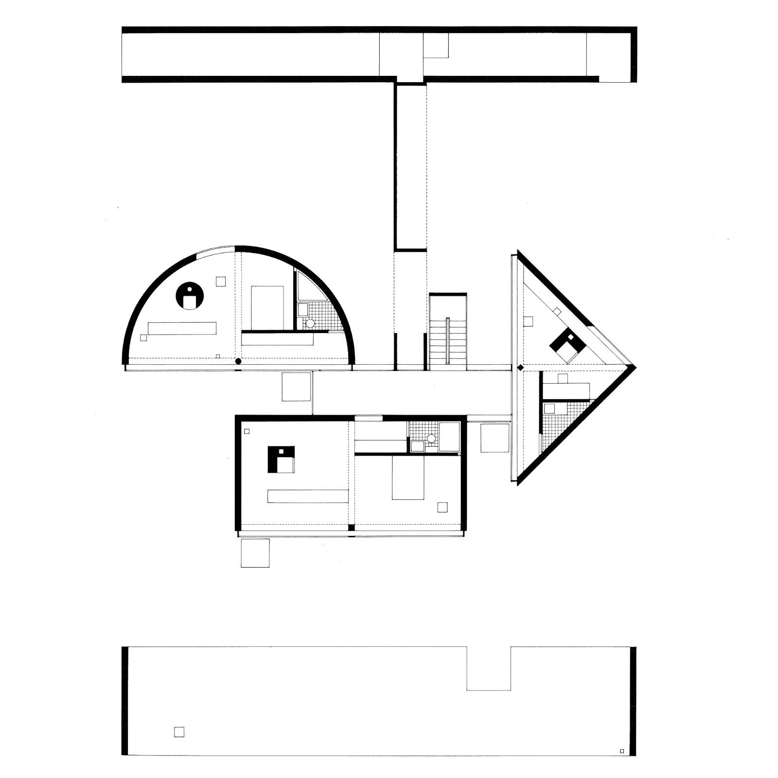 Hidden Architecture: One-Half House