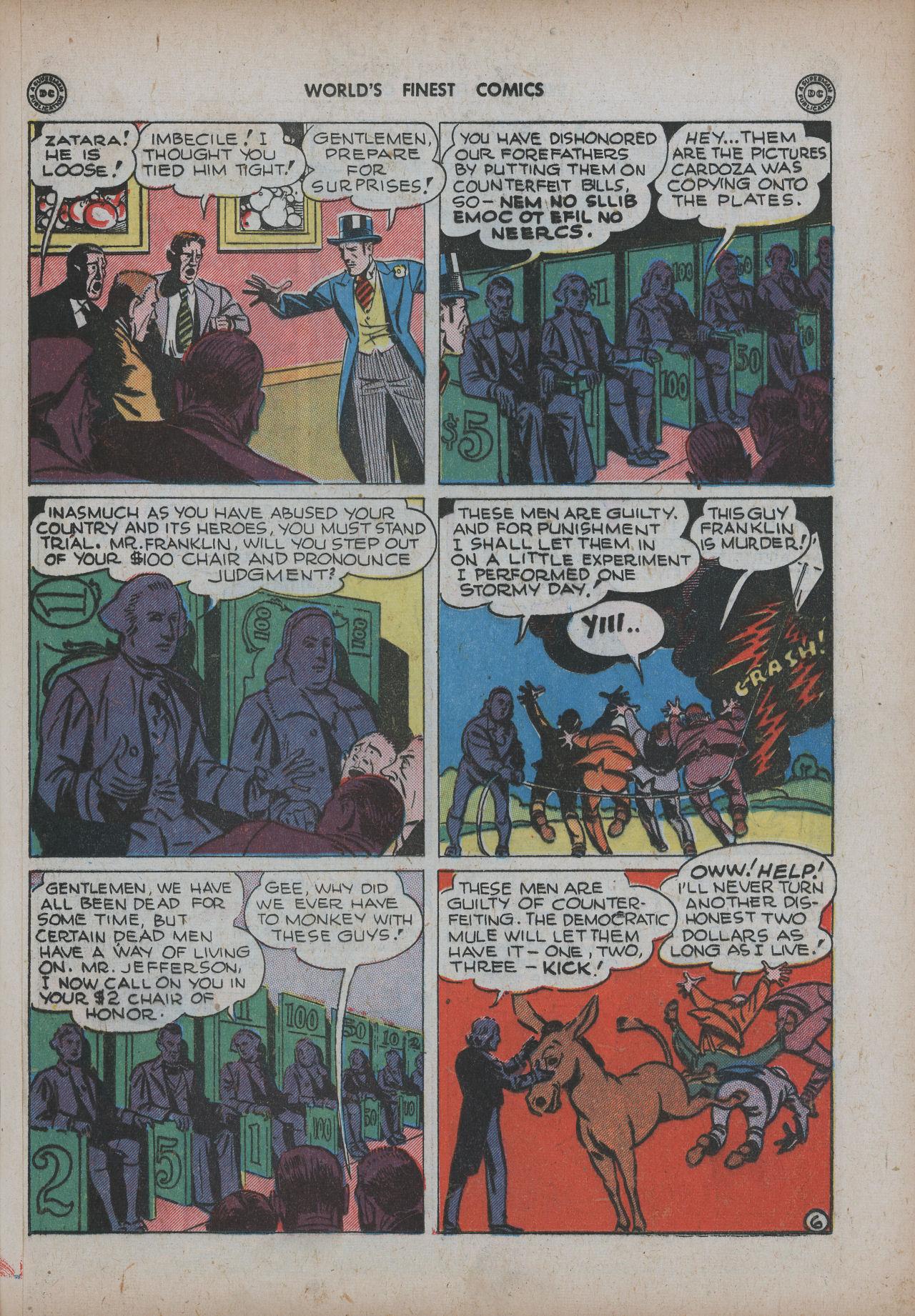 Read online World's Finest Comics comic -  Issue #20 - 33