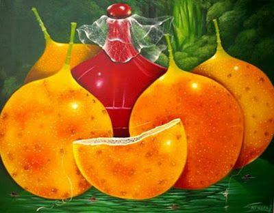 bodegon abstracto de pedro cabrera pintor colombiano