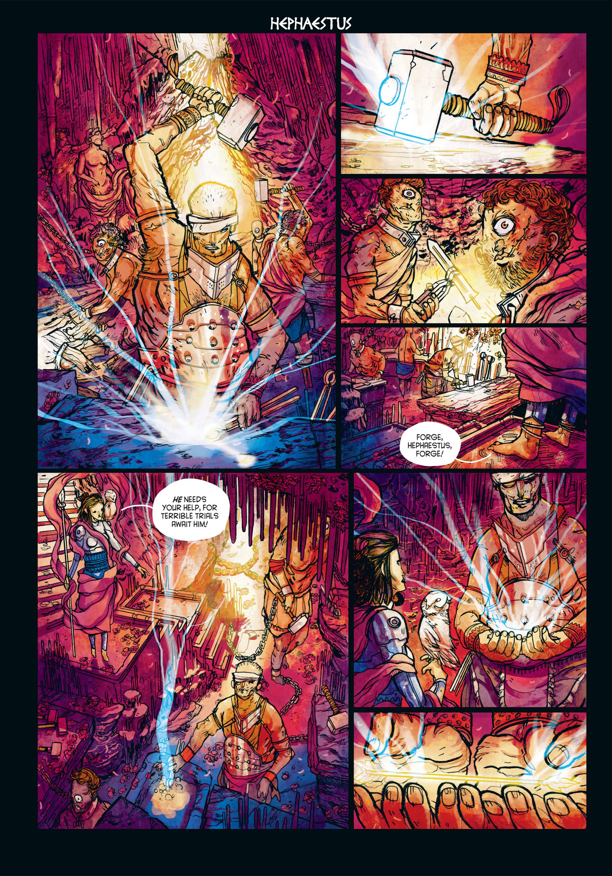 Read online Adrastée comic -  Issue #1 - 38