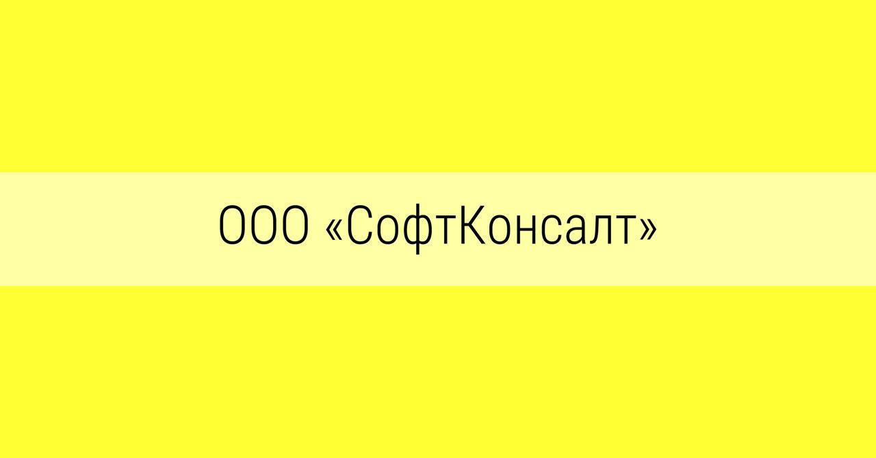 ООО «СофтКонсалт», г.Челябинск