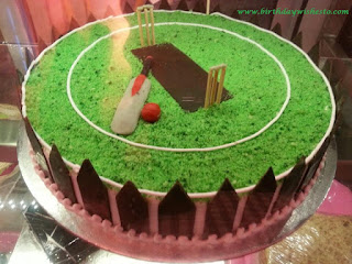 Cricket Groung Birthday Cakes