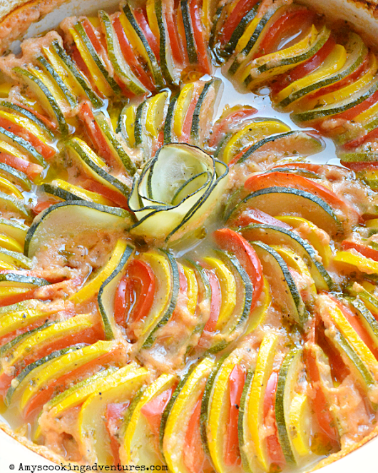 Ratatouille Bake #BastilleDayRecipes