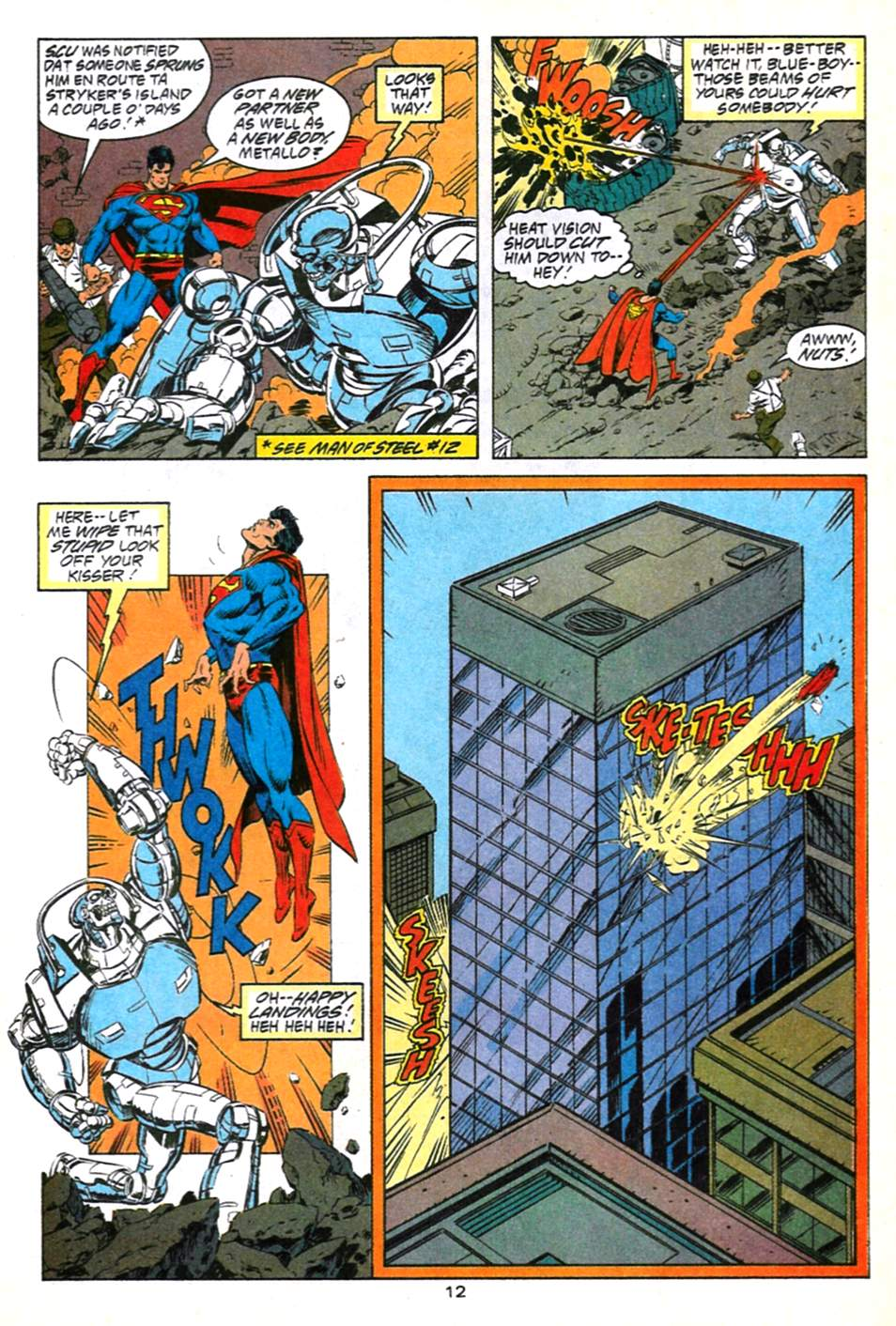 Read online Adventures of Superman (1987) comic -  Issue #491 - 13