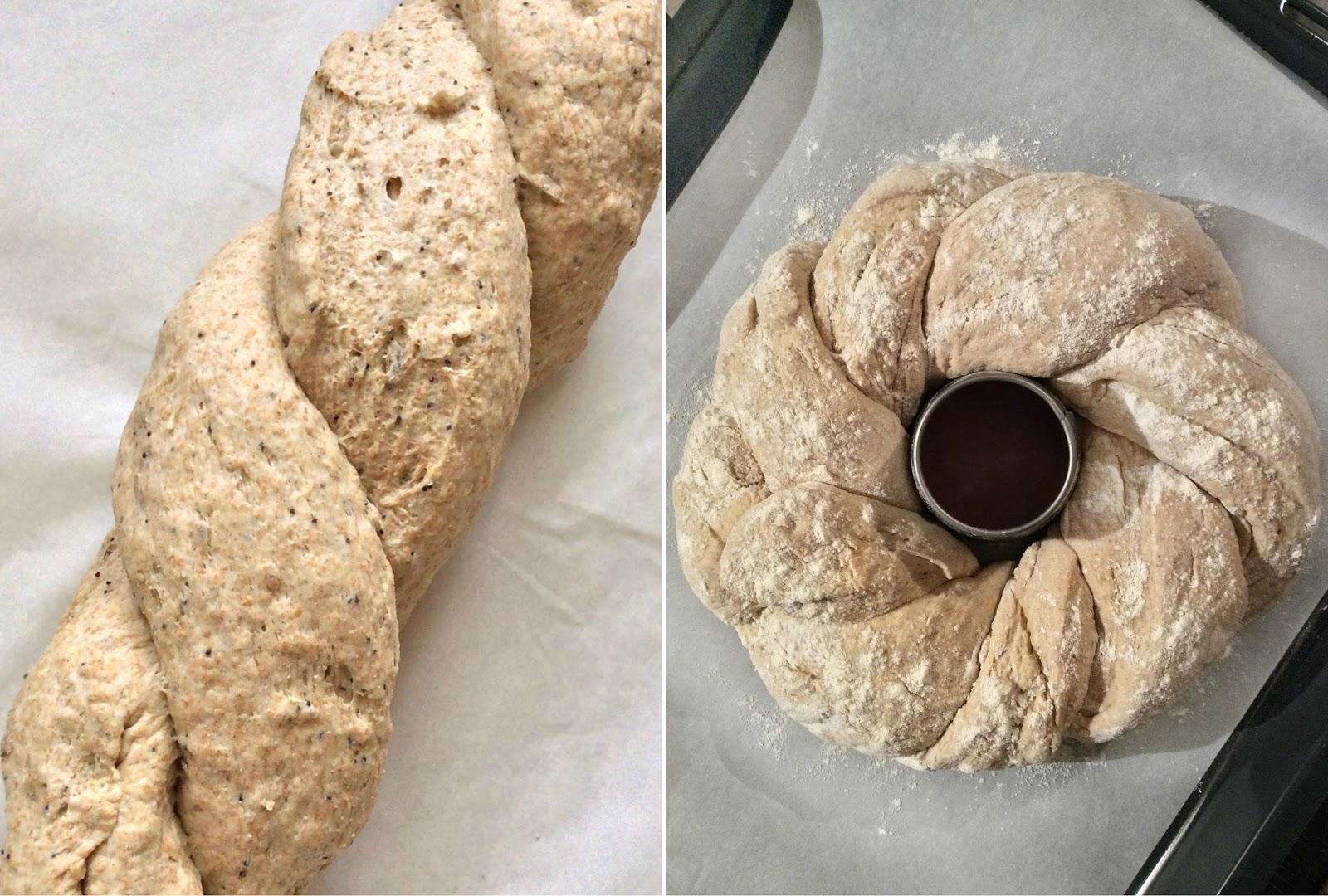 pane intrecciato come si fa