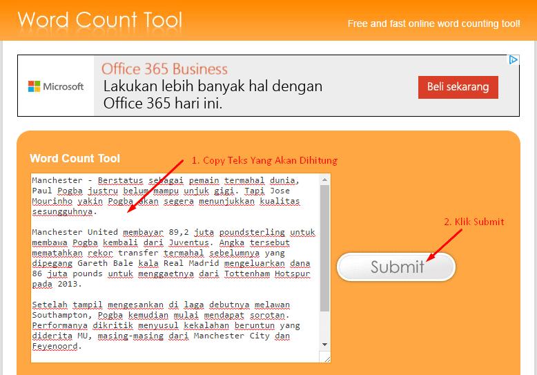 Cara Menghitung Jumlah Kata Dalam Artikel Atau Postingan Blog ...