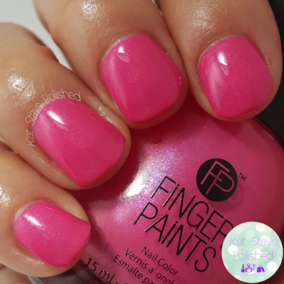 FingerPaints New Feb 2016 Shades - A-Cry-Lic A Girl | Kat Stays Polished