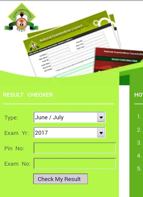 2017/2018 NECO SSCE June/ July Examination Results Out - See How To Check Here