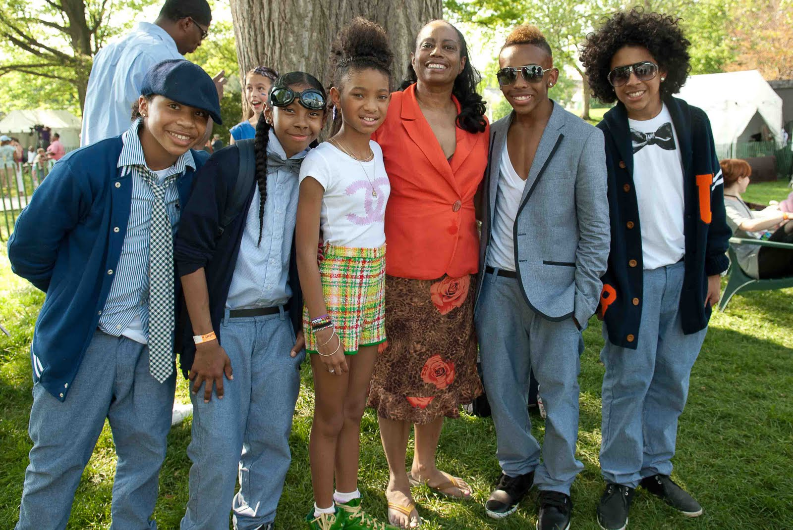 Did Princeton from mindless behavior kiss Willow Smith