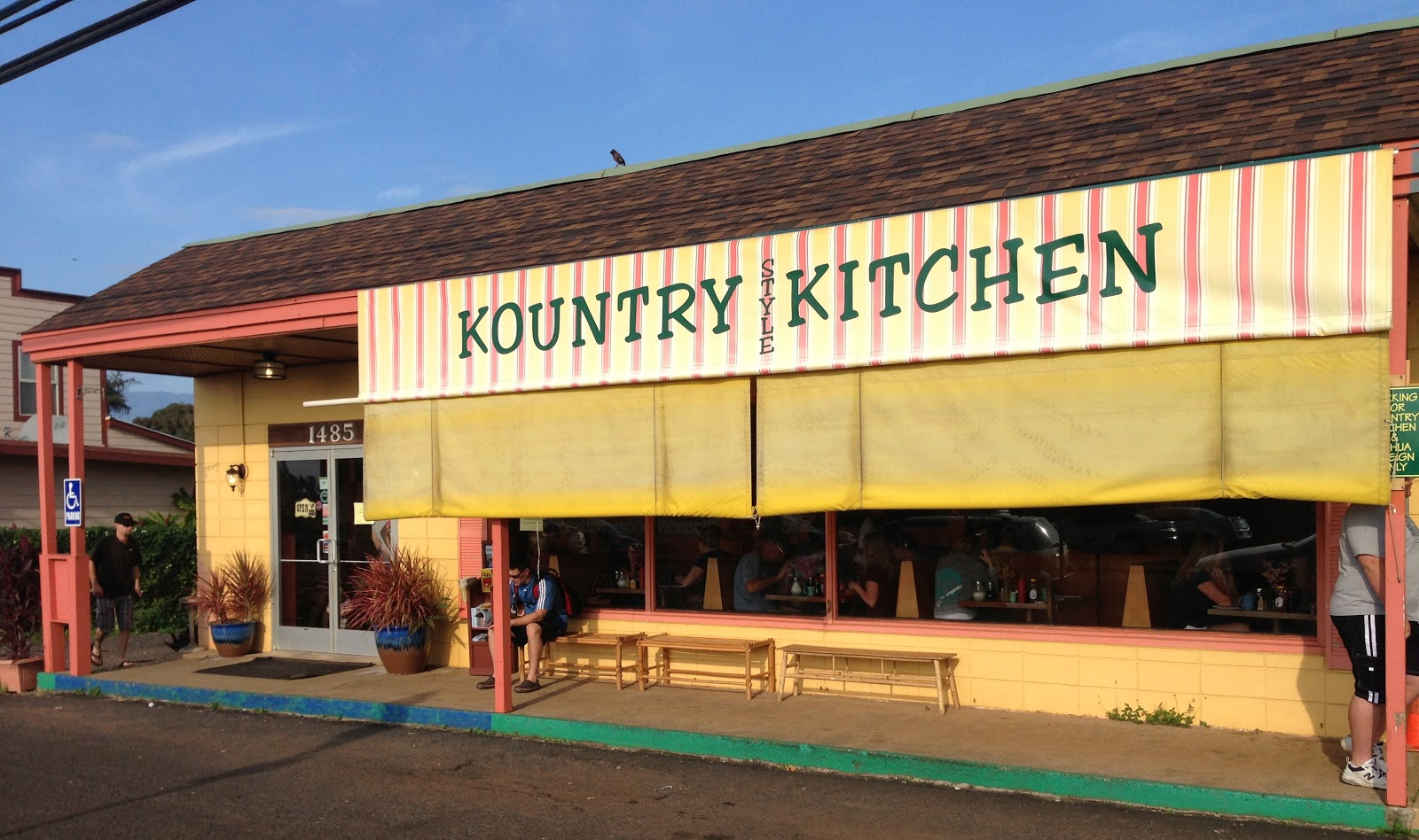 TASTE OF HAWAII: KOUNTRY STYLE KITCHEN - KAPAA, KAUAI