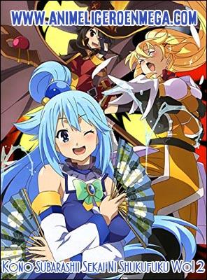 Kono Subarashii Sekai Ni Shukufuku Wo! 2: Todos los Capítulos (08/10) + OVA (01/01) [Mega - MediaFire - Google Drive] BD - HDL