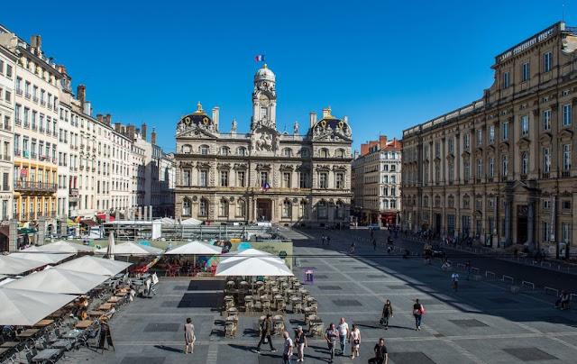 Place des Terreaux visite guidée Lyon