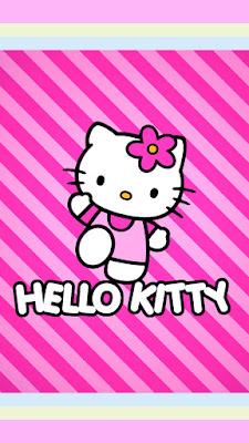 khususnya cewek memang sangat gemar koleksi gambar hello kitty 15 Gambar Wallpaper Android Hello Kitty Imut