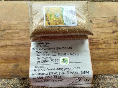 Benih pesanan YULIZAL Pidie, Aceh..   (Sebelum Packing)