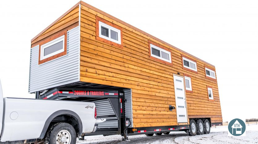 Tiny house town the vagabond tiny house 390 sq ft for Tiny homes for sale canada