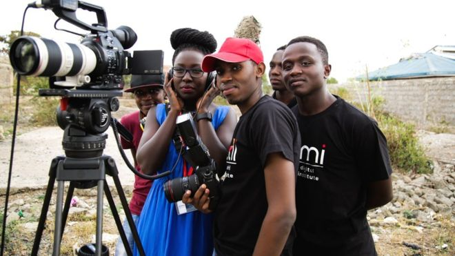 Kenyan film school takes on Hollywood for an Oscar
