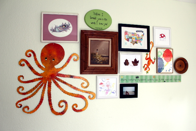 Gallery Wall for Children