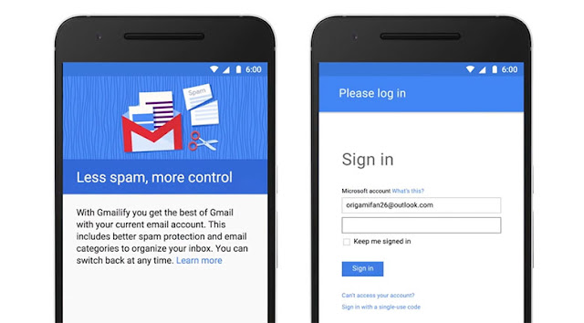 Google Introducing Gmailify For Spam Safety