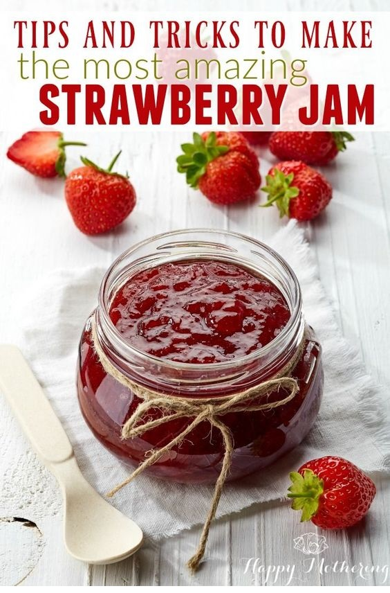 The Easiest Strawberry Jam