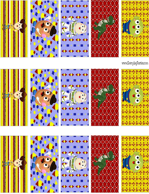 Toy Story Mini Candy Bar Wrapper Printable