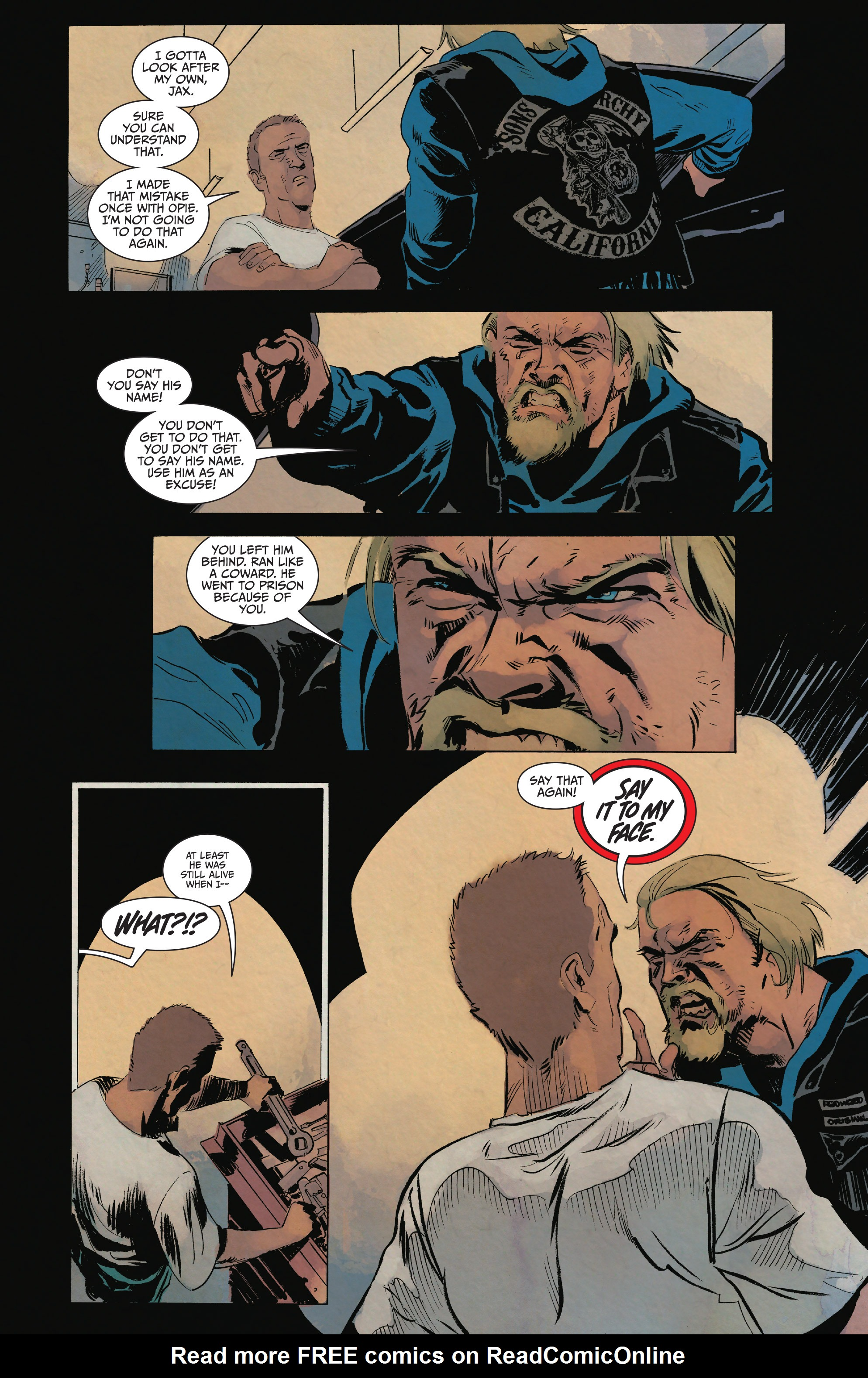 Read online Sons of Anarchy comic -  Issue #15 - 13
