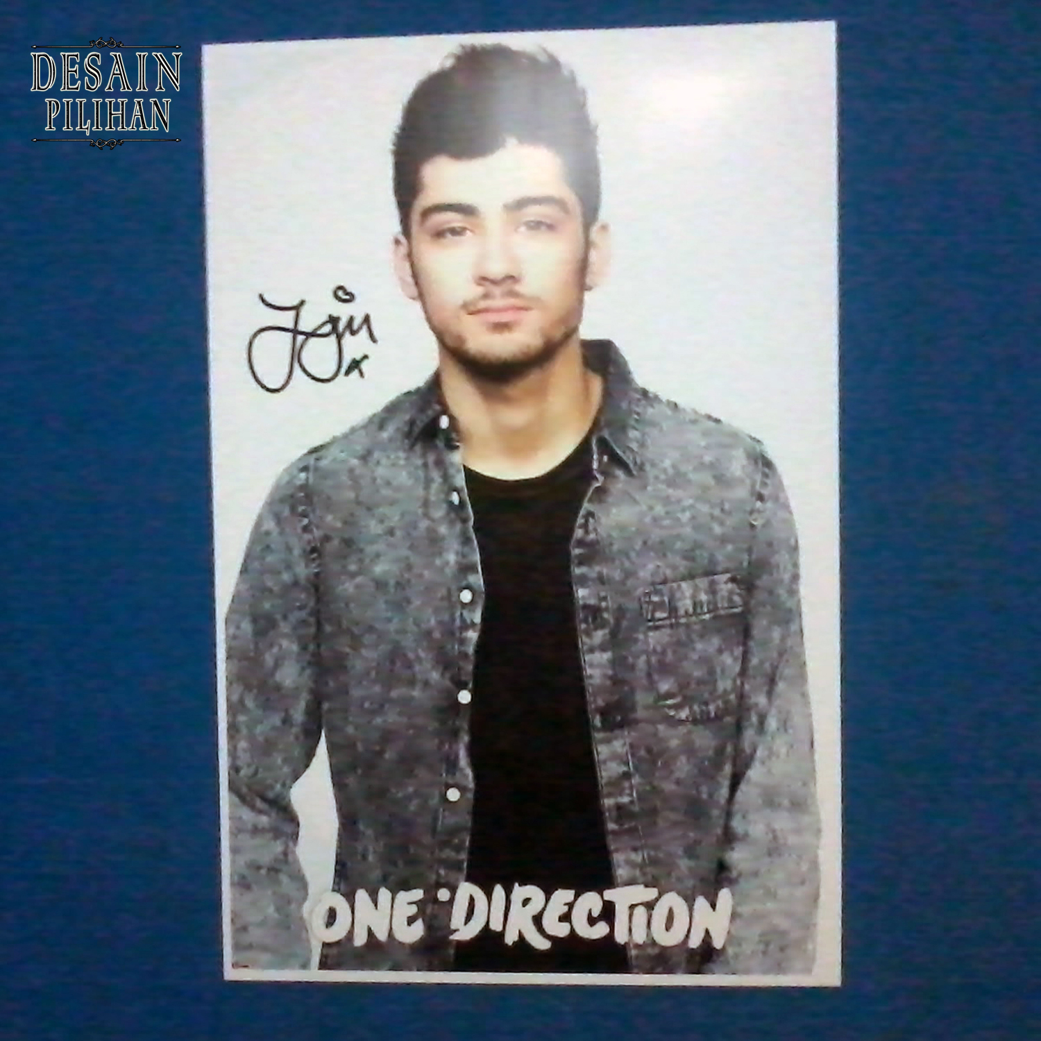 POSTER PERSONEL ONE DIRECTION