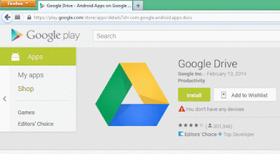 Cara Download File APK Google DRIVE di PC