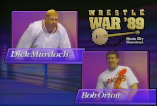 NWA Wrestlewar 1989 - Dick Murdoch vs. Bob Orton