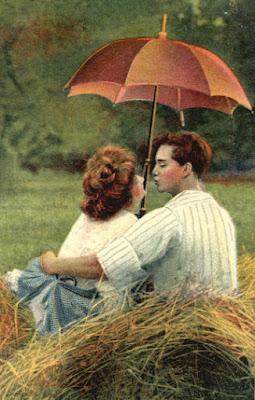 Amor romántico que embelesa y nos hace ver mariposas.