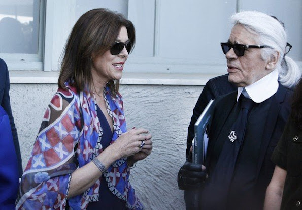 Princess Caroline of Hanover attended the opening of the 30th International Festival of Fashion