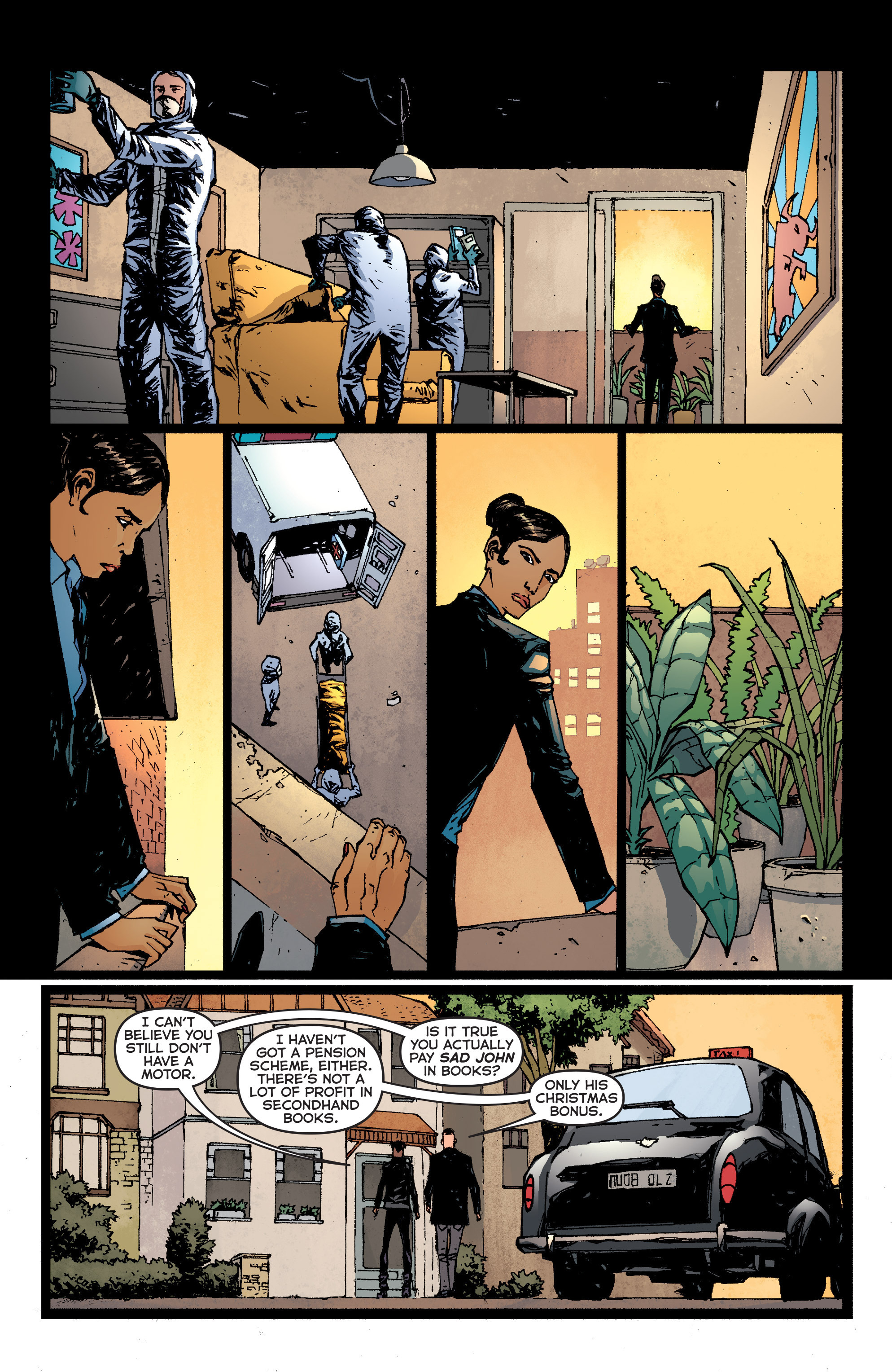 Read online Second Sight comic -  Issue #2 - 8