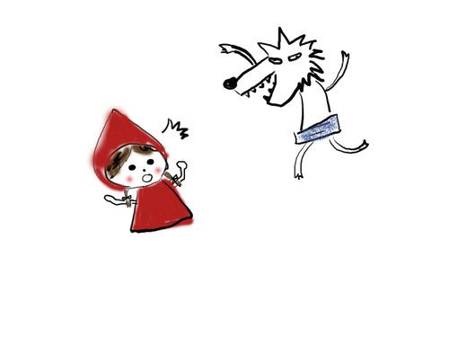 小紅帽 v.s. 大野狼 - 史蘿莉的療癒天堂