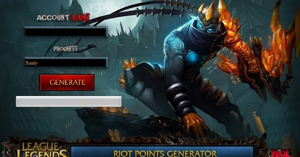 lol riot points generator
