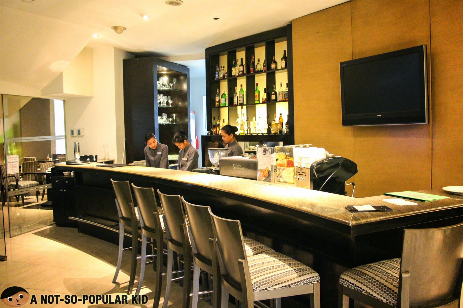 The Cafe Astoria of Astoria Plaza Hotel in Ortigas