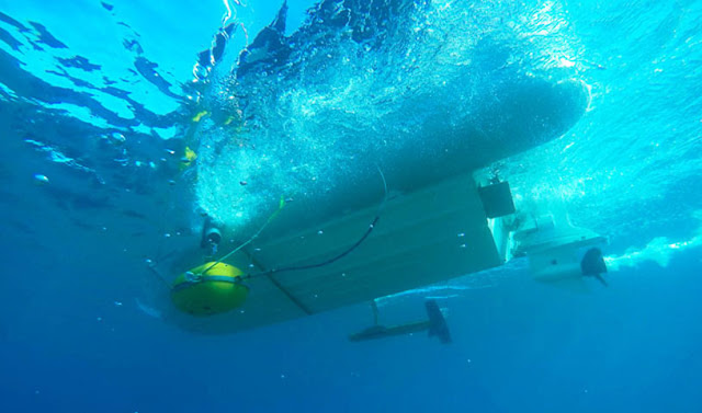 Two shipwrecks located off the coast of Methoni