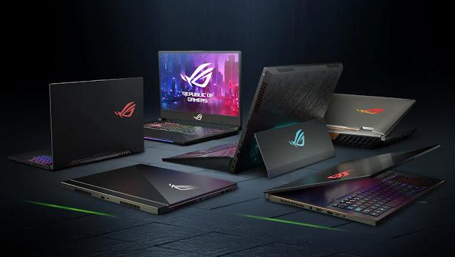 Laptop ROG dengan GeForce RTX Resmi di Indonesia