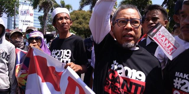 Orator Deklarasi #2019GantiPresiden Teriak PKI Usai Sebut Nama Jokowi