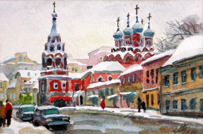 Российский художник. Михаил Мерзликин