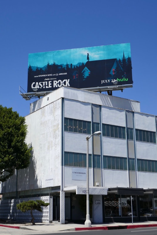 Castle Rock Hulu series billboard